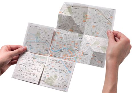 How To Make A Paper Map - the zoomable paper map pr 234 t 224 voyager