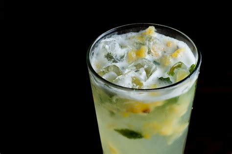 pineapple mojito recipe pineapple mojito recipe hgtv
