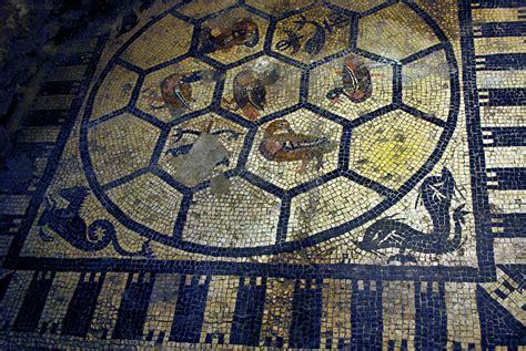 fideuram verona scavi scaligeri mosaico artribune