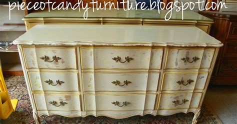 dixie furniture triple dresser piece of candy furniture french provincial dixie triple