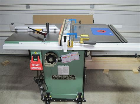 review general international 50 200r m1 table saw by