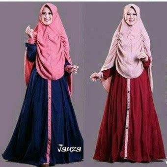 Baju Gamis Plus Kerudung Dimana Beli Baju Original Gamis Jauna Syar I Dress Gamis