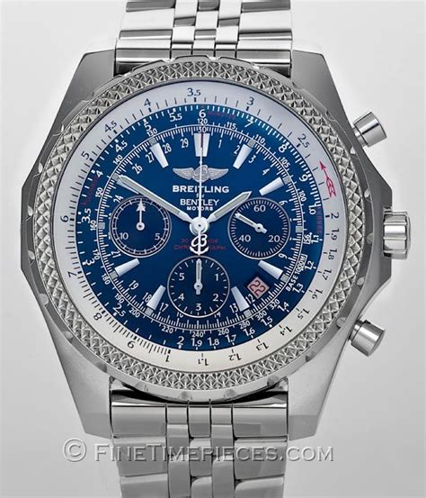 bentley breitling a25362 breitling bentley motors ref a25362 finetimepieces