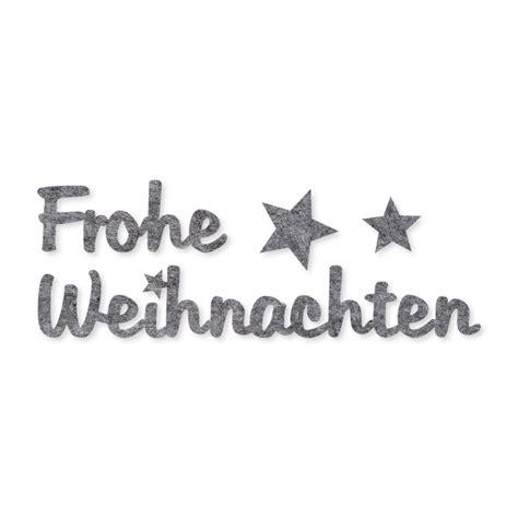 Sticker Schriftzug by Filz Sticker Schriftz 252 Ge Frohe Weihnachten Seidenb 228 Nder