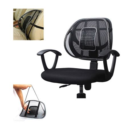 mesh seat cushion for office chair mesh lumbar back brace support office home car seat chair