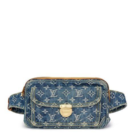 Louis Vuitton Denim Bum Bag by Louis Vuitton Bumbag 2018 Hb1679 Second Handbags
