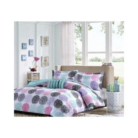 purple teen bedding 1 x full queen reversible comforter set pink teal purple