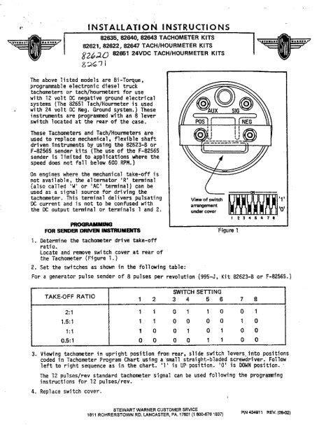 Diesel Tachometer Wiring Diagram - Wiring Diagram