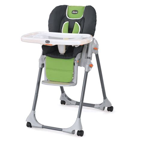 High Chair Chicco by Chicco Polly Pad Fabric Highchair