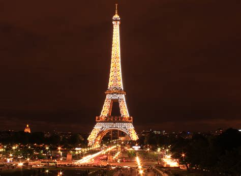 Eiffel Tower Light Show by Top Landmarks In Things To Do In Tours