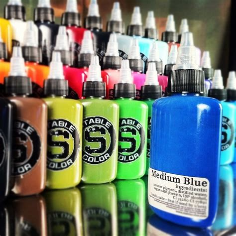tattoo ink ingredients 36 best images about stable color tattoo ink on pinterest