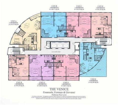 condo building plans the venice luxury residences building plans