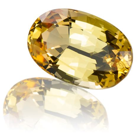 Is This Really A Gold Topaz by Brazil Golden Topaz Oval 10 21ct King Gems
