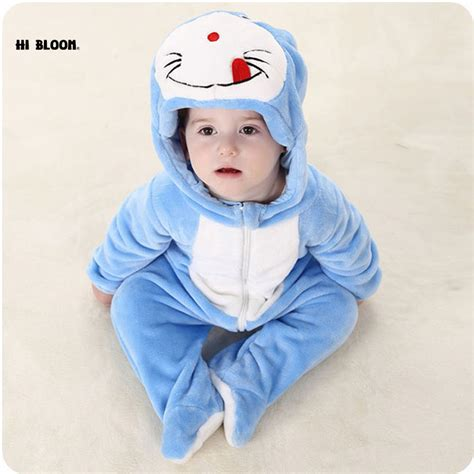 Sweater Doraemon easter gift baby clothing winter sleeve infant onesie doraemon cat totoro costumes