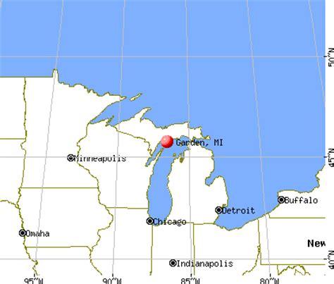 Garden Mi Garden Michigan Mi 49835 Profile Population Maps