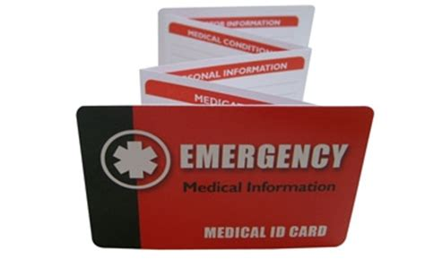 alert wallet card template canada id alert bracelets and necklaces universal