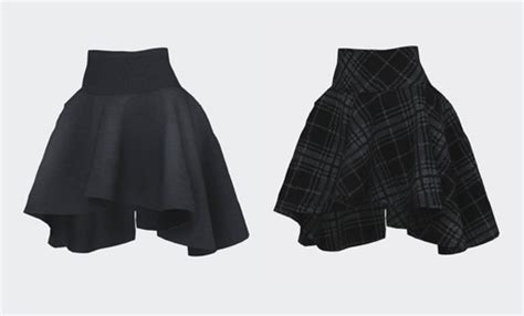 Hem Marisa Maroon april 2016 fashion skirts