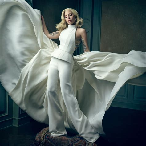 Vanity Fair Portrait by Gaga 2016 Vanity Fair Oscar Portrait