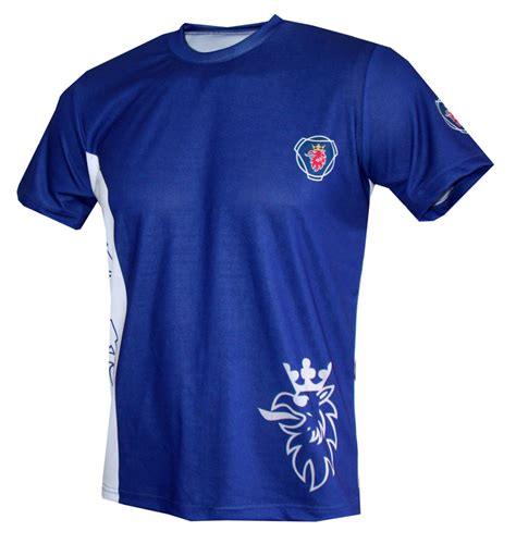 scania t shirt with logo and all printed picture t