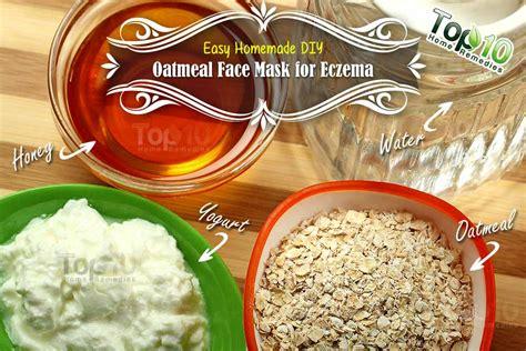 oatmeal mask diy easy diy oatmeal mask for eczema top 10 home remedies