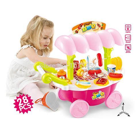 Mainan Masakan Set Pink jual bbq cart playset pink mainan anak perempuan masakan