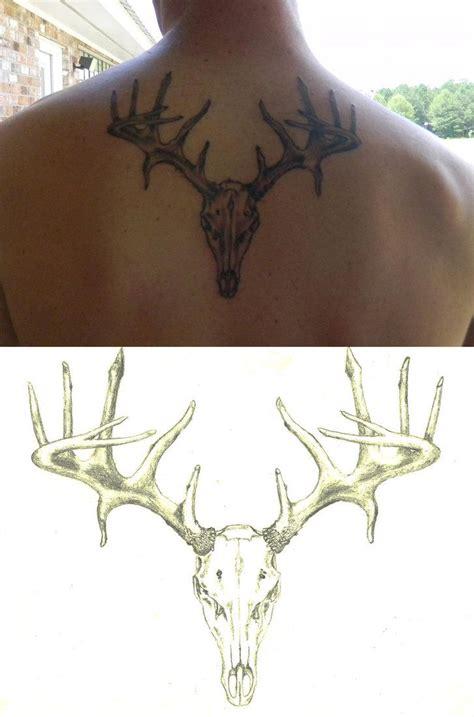 deer skull tattoos lovetoknow best 25 deer tattoos ideas on