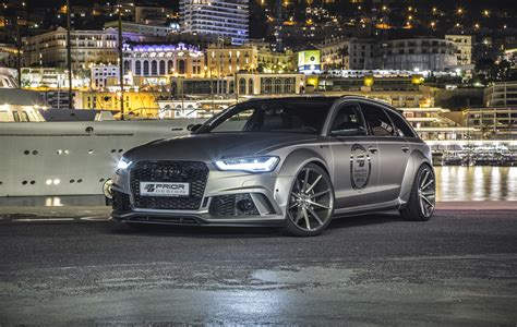 Audi Rs6 Service Costs Prior Design Releases Audi A6 Rs6 Avant Pd600r