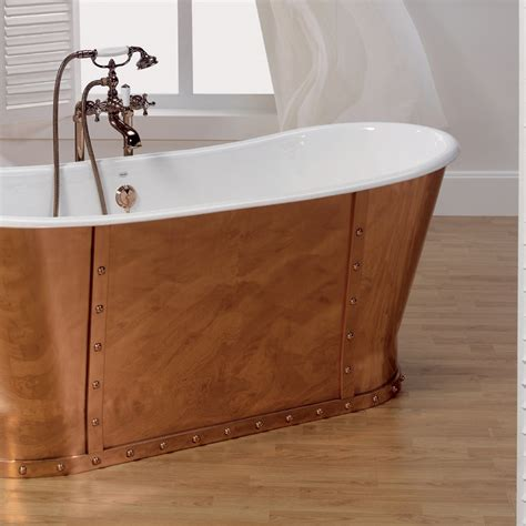 vasca da bagno in ghisa vasca da bagno in ghisa placcata esternamente in rame henry
