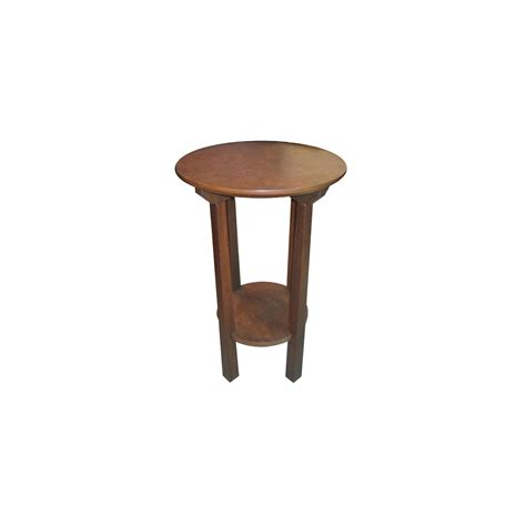 round table phone techstyle solid wood round end telephone table hall