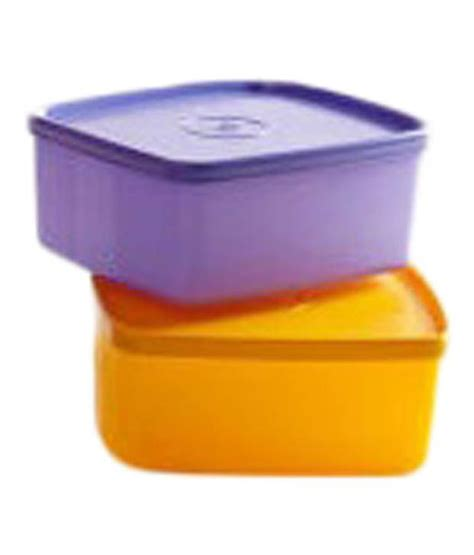 Tupperware Medium Square tupperware medium square storage container 700 ml set of 2