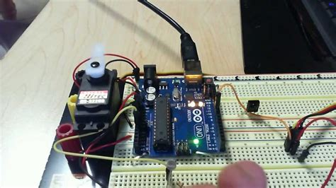 photoresistor with servo motor arduino tutorial photocell