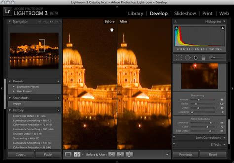 lightroom tutorial noise reduction adobe adds speed flickr integration to lightroom 3 wired