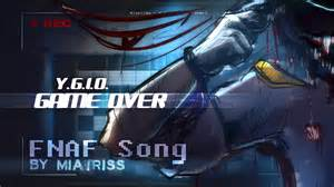 Game over original five nights at freddy s song 60 fps youtube