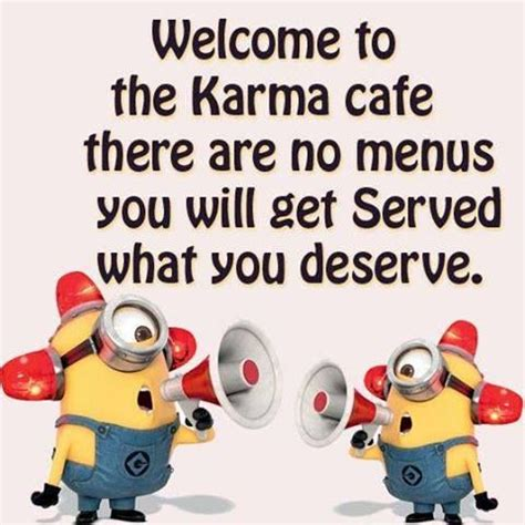 Welcome To Cafe welcome to the karma cafe there are no menus you will