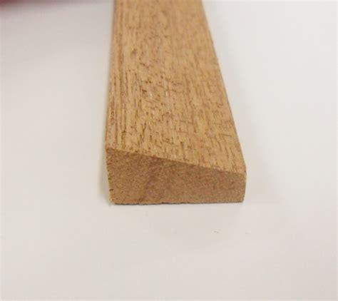 wedge bead hardwood decorative trim moulding 21x12mm 2 4m