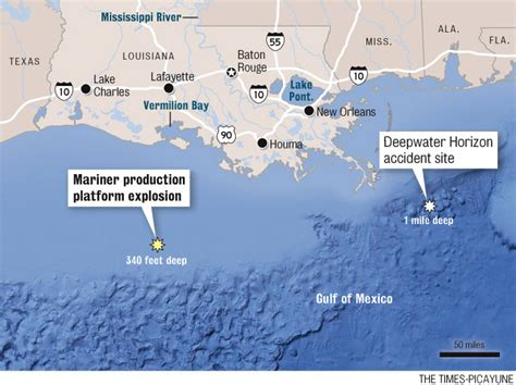 cocodrie boat accident production rig in gulf of mexico explodes coast guard