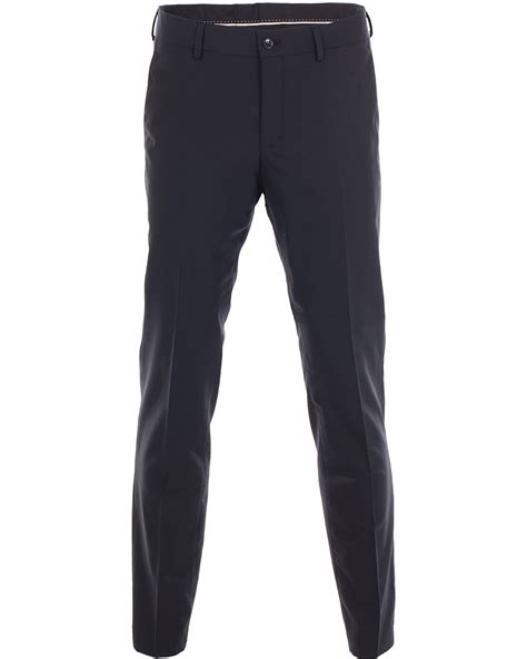 by malene birger cara trouser in blue navy lyst tiger of sweden herris trousers navy 54 hos careofcarl no
