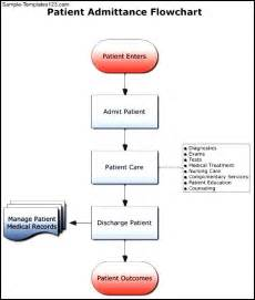 Patient Chart Template by Patient Admittance Flowchart Template Sle Templates