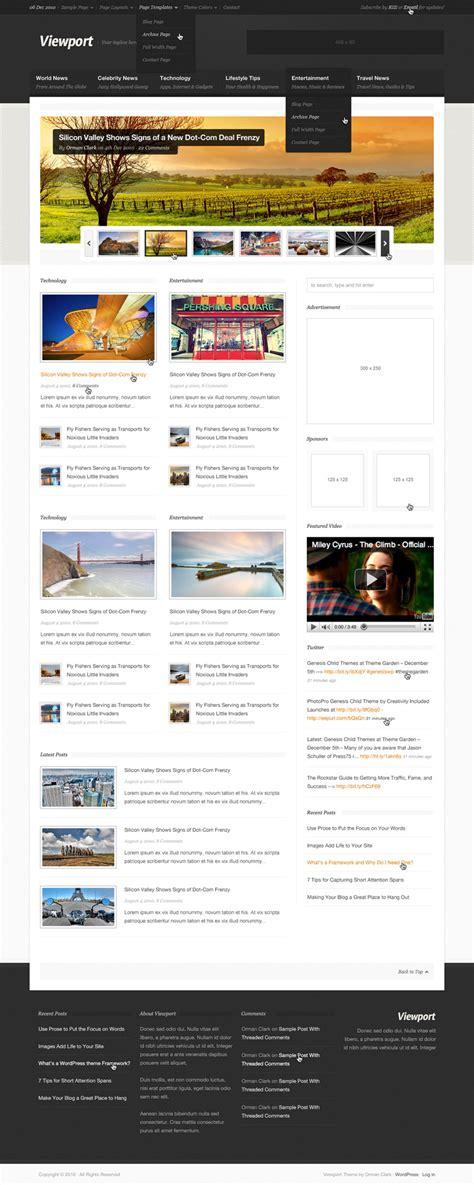 layout magazine psd viewport magazine site template psd