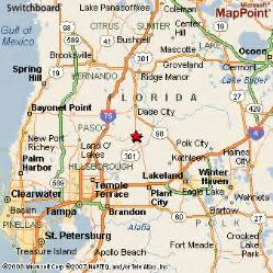 map of zephyrhills florida area zephyrhills florida