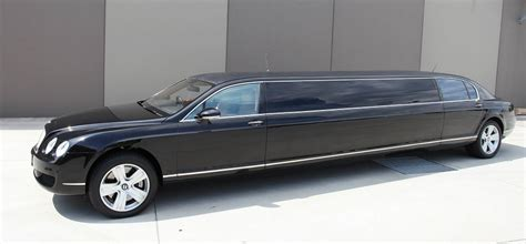 stretch bentley limo bentley flying spur stretch chauffeur driven limousines