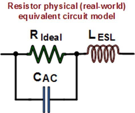inductors used in real resistors resistance calculations formulas equations rf cafe