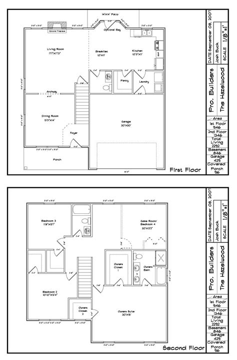 new tradition homes floor plans the hazelwood1floorplan small