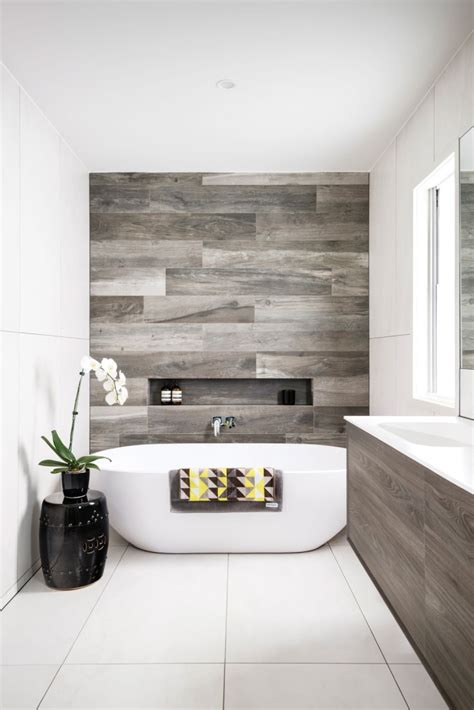 Modern Bathroom Feature Tiles Kronos Ceramiche Porcelain Tile In Talco And Woodside