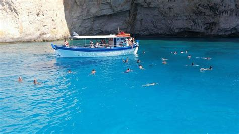 boat tour zakynthos boat tour to the famous quot navagio quot shipwreck beach in