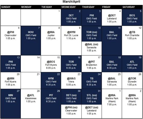 update yankees announce schedule