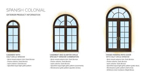 home design window style brilliant exterior window styles spanish colonial home