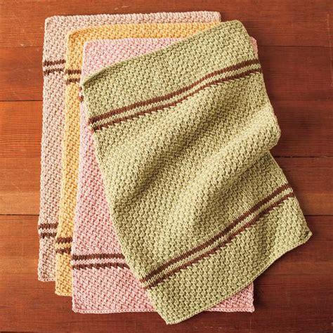 knit kitchen towel patterns free knitting pattern knitpicks dish towel set check