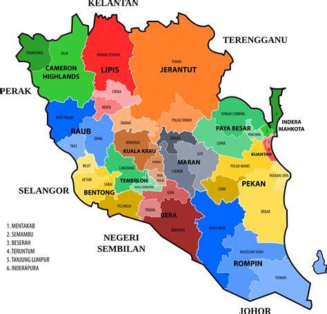 Sep 16 clipart pahang new electoral map