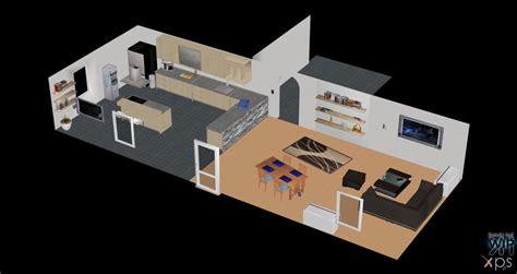 kitchen and living room xps beta2 by grummel83 on deviantart